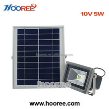 Swiftly Done Bright floodlight Solar Power Outdoor LED Light No Tools Required Peel and Stick Motion Activated