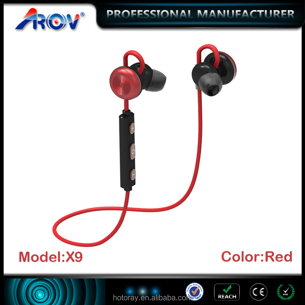 Alibaba 2017 stereo wireless headset bluetooth earphones magnetic cheap bluetooth headphone