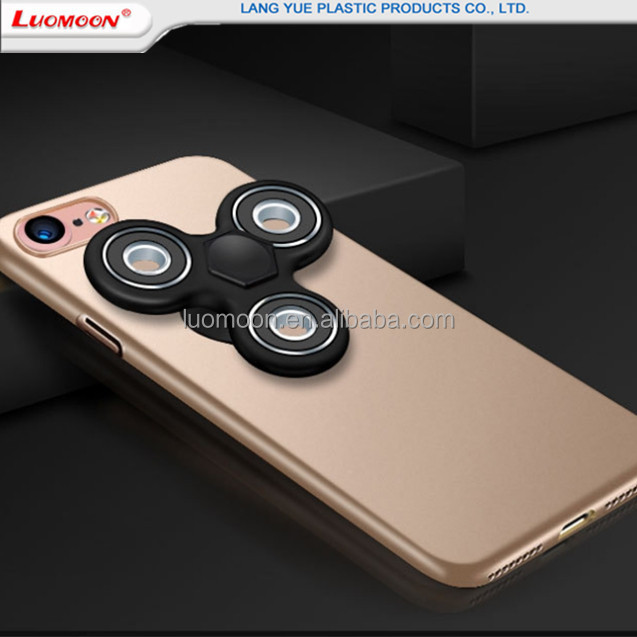 Alibaba Com for iPhone 6 Plus TPU+PC mobile phone case with finger spinner for entertainment bulk buy from China