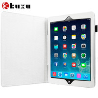 White Folio Pouch Case Cover Stand for Apple iPad Air