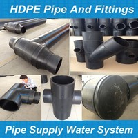 hdpe pipe flange fitting dimensions / hdpe reducing coupling/ hdpe threaded coupling