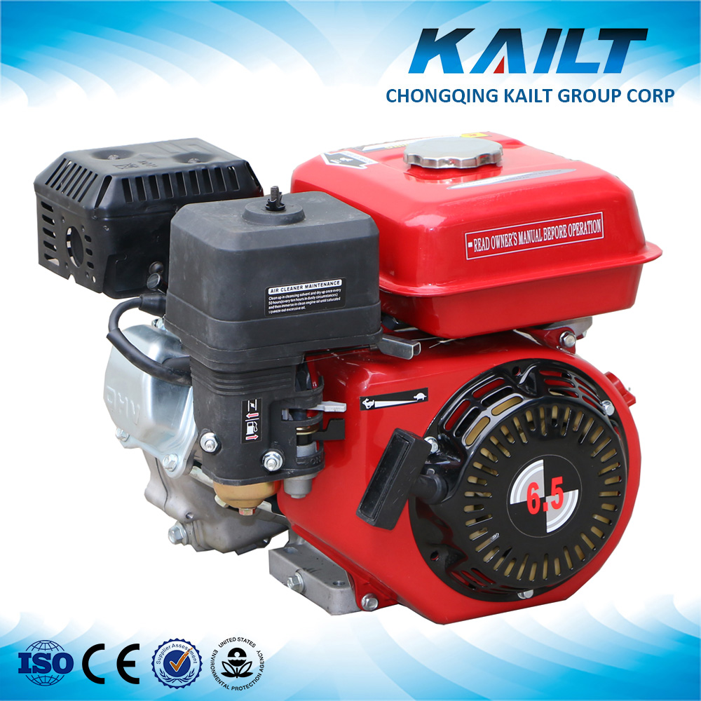 2016 new design kailt gasoline engine karts engine 6.5hp 168F engine