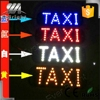 45SMD LED Board Light Cab Indicator Taxi Sign Lamp in Night Driving 4 Color,led taxi top light