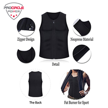 2018 High Professional Neoprene Weighted Slim And Body Shaping Waist Trainer Vest For Men
