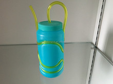 easy drink pp kids water bottle with straw