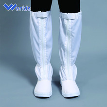PVC or PU outsole stripe anti-static work safety boots