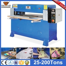 semi-automatic hydraulic press leather gloves cutting machine