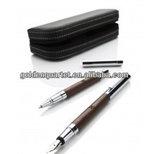 Custom Luxury real leather Pen case(SA8000, SEDEX, BSCI, ICTI, WCA accredited factory)