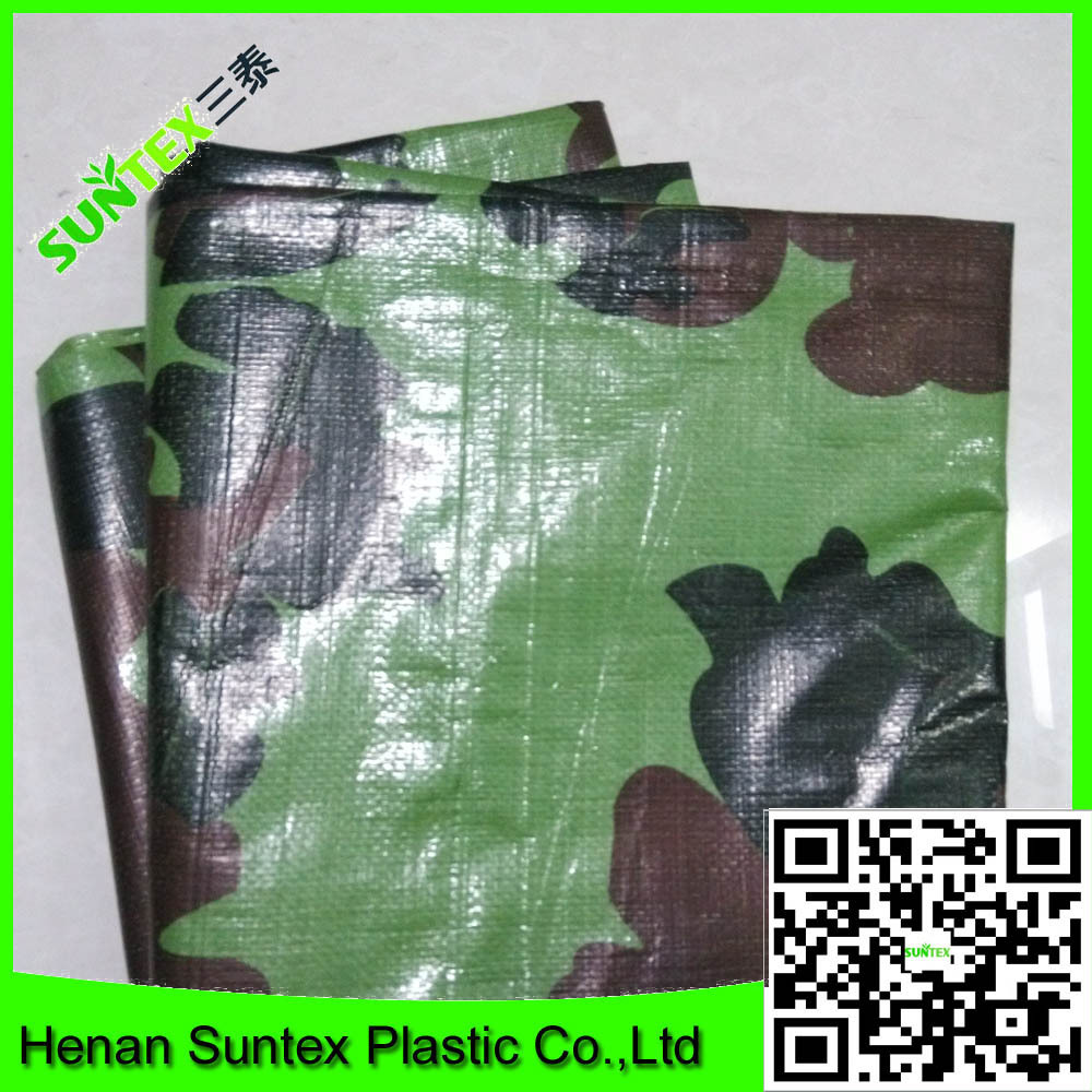 china pe tarpaulin made military tarpaulin with reinforced eyelets tarpaulin
