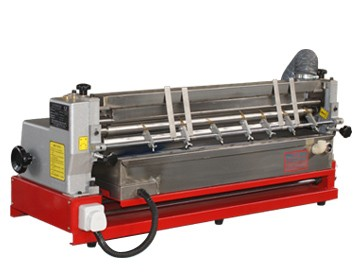 new type hot melt gluing machine