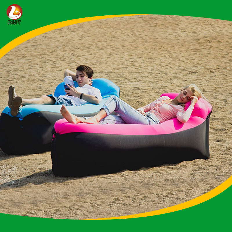 Portable Blow Up Lounge Chair Air Sleeping Lazy Bag Sofa
