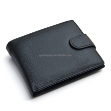 Leisure Multi Purpose Cow Leather Short Wallet For Boys With Fold Over Design