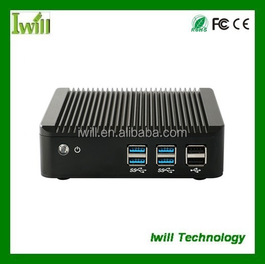Fanless Nano Box-N7 1037U Dual core Mini PC with DDR3 2G Default (I3,I5 Option)