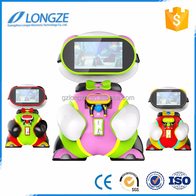 Longze vr equipment supplier games children's coin operated game machine kids toy