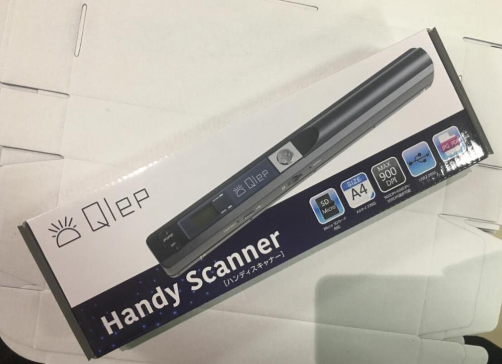 Portable Wireless Handhold Scanner Document Image Support 900DPI LCD Display JPG / PDF Format Selection A4 Book Handy Scanner