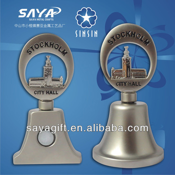 Customized Dinner Bell Souvenir Bell also fridge magnet