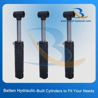Low price high quality double acting engine hydraulic hoist cylinder