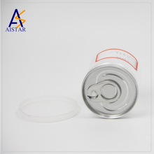 Aluminum cap sealed lower cost plastic food bottle