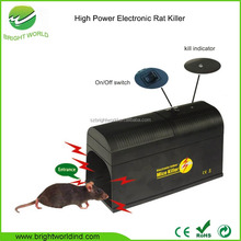 enviromental-friendly high voltage electronic mouse trap rat killer