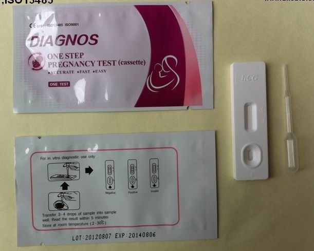 HCG pregnancy test strip / cassette / pen