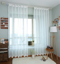 Sheer Roman Curtains Embroidered Modern Cafe Windows Curtains