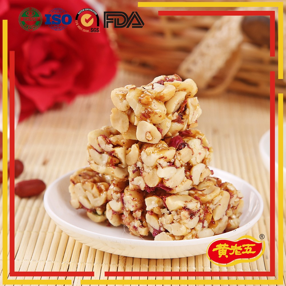 Sichuan famous brand hot peanut snack bar