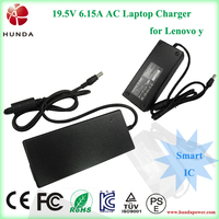 19.5v 6.15a 120w solar laptop charger for lenovo, ac adapter/power supply/power core for lenovo netbooks/notebook/computer