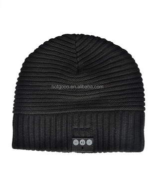 100% Cotton Yarn Knitted Beanie Hats And Caps Men Unisex Slouchy Beanie