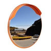 Shatter Proof Convex Round Traffic Safety Mirror