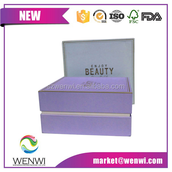 Extravagant gift packaging baby clothes gift box