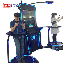 Entertainment adults vr fighting game+manufacturer vr games simulator walking platform