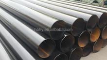 LASW black steel pipe welded pipe oil or gas line pipe API 5L ASTM A672