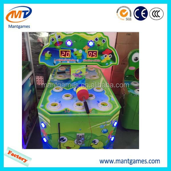 Redemption prize lottery tickets arcade game in coin operated games toy for kids