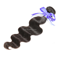 Top selling products 16'' body wave braiding hair, 100 human hair extensions Mongolian virgin hair weft bundles