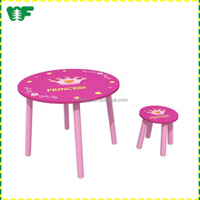 Hot sale cheap wood kids table chair kindergarten