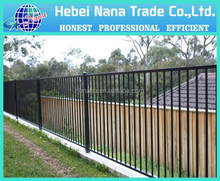 outdoor plastic barricade fence