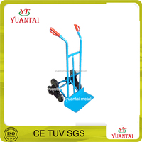 Steel six wheel hand trolley for stairs climbing hand truck hand trolley