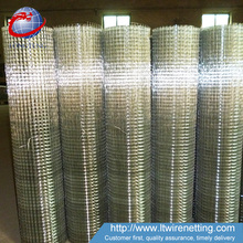 Anping manufacturer cheap price 1x1 1x2 electro galvanized welded wire mesh for mice