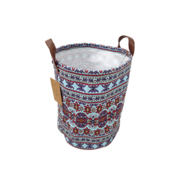 Hot new products fabric canvas basket storage