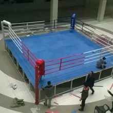 Customized Logo Used Floor Boxing Ring For Boxing Training Sale
