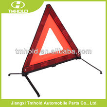 car folding accessory, folding red safety reflective warning triangle for emergency