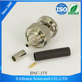 BNC male connector crimp type for RG316/RG174 cable