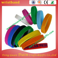 laser engraving offset imprinting silicone wristband for 500 pcs per carton