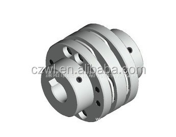 types of shaft couplings Bidirectional clamping flexible standard coupling SJM