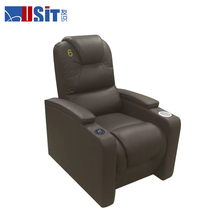 Usit UV855A/2 Home Theatre Manual Lazy boy Leather Reclining Sofa With Cup Holder,lazy boy recliner sofa slipcovers