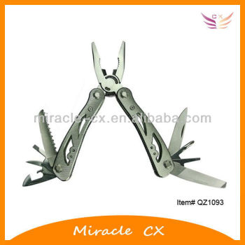 stainless steel pliers 4 holes aluminum handle mulit tool
