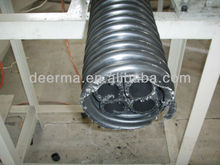 PVC cod cable protection pipe production line/thread pipe machine with price