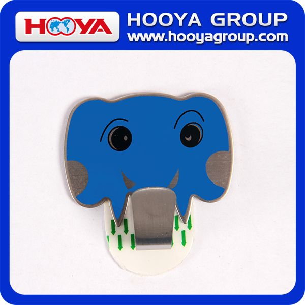 5.5*5cm Elephant Magnetic Hook/Cartoon Adhesive Hook/Stainless Steel Hook