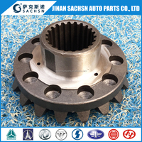 Truck spare parts First rear drive axle Half Shaft Gear 199114320032 Bevel Pinion Gear