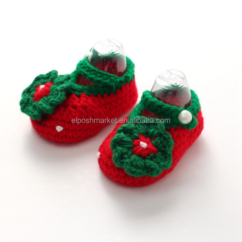 Personalized Hand Knit Baby Booties Wholesale